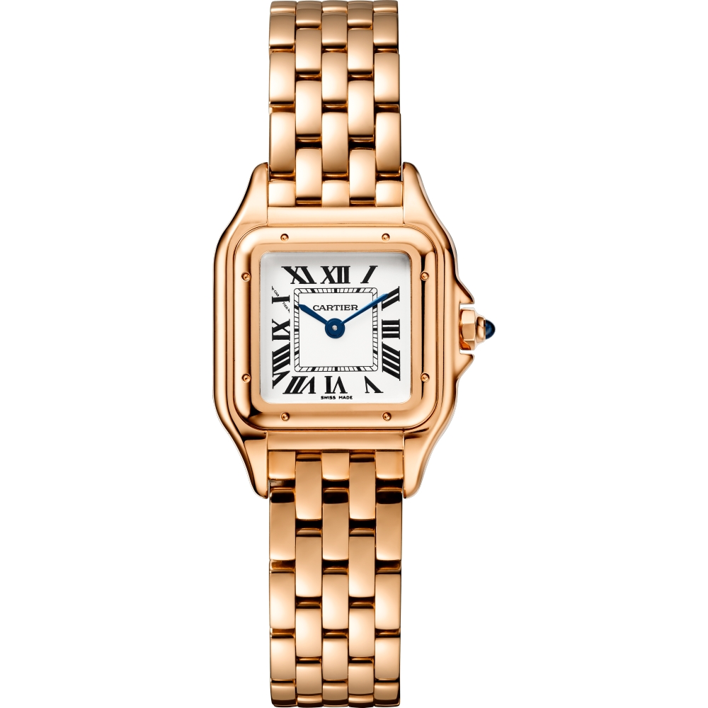 Panthère de Cartier腕表 小号 18K玫瑰金 石英