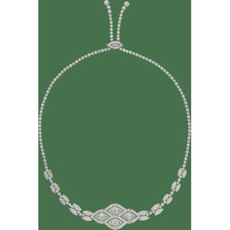 高级珠宝发饰 18K白金