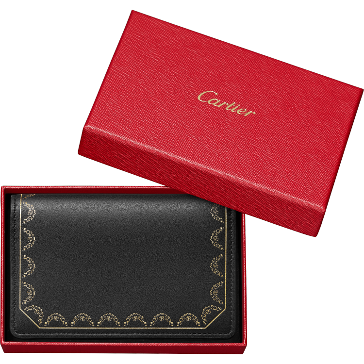 Guirlande de Cartier翻盖多卡片夹