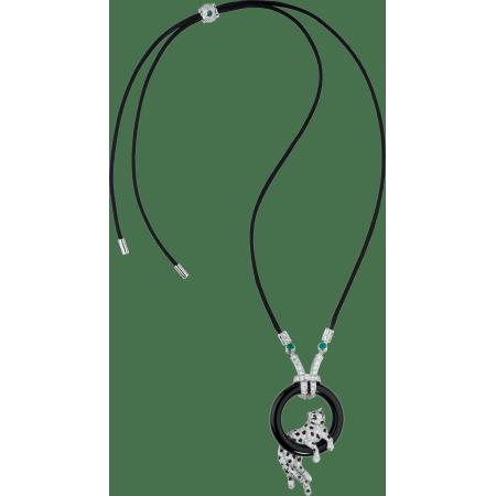 Panthère de Cartier卡地亚猎豹项链 铂金