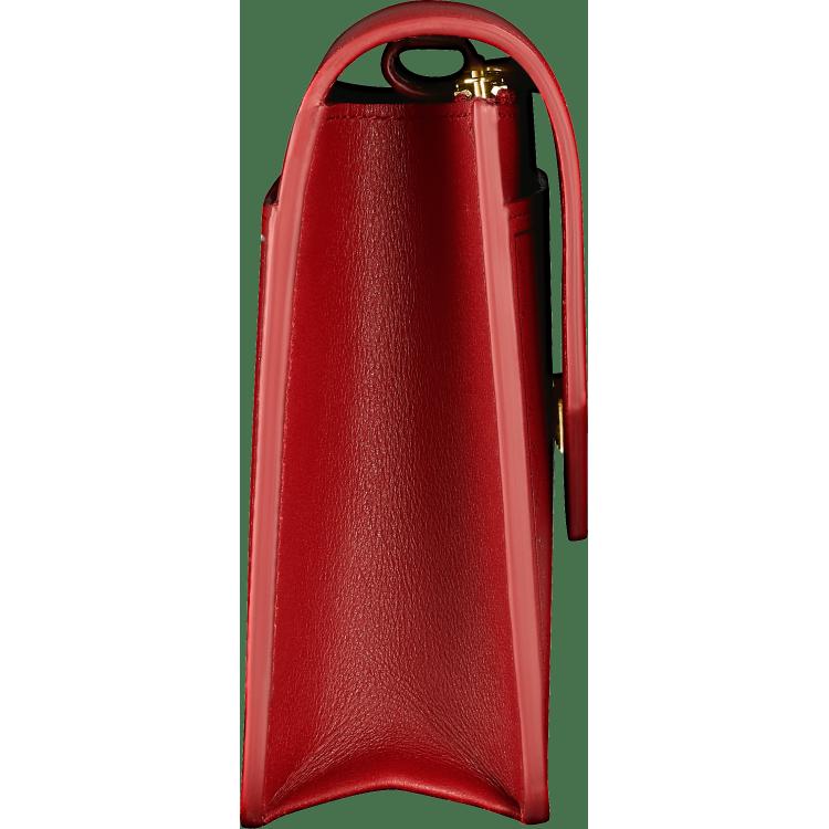 Guirlande de Cartier皮夹式手袋 红色 小牛皮