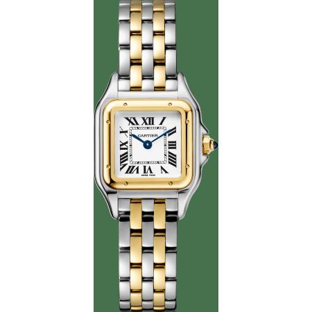 Panthère de Cartier腕表 小号 黄K金与精钢 石英