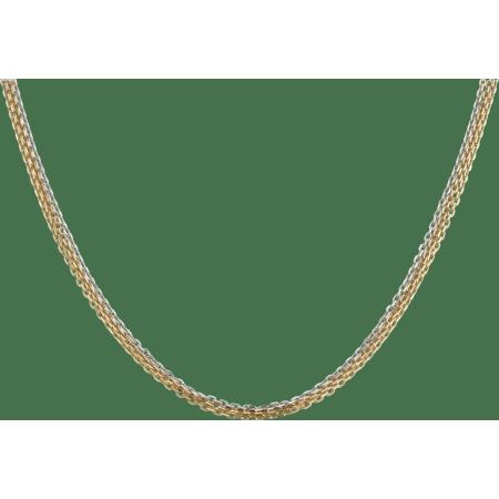 Trinity项链 18K白金,18K黄金,18K玫瑰金
