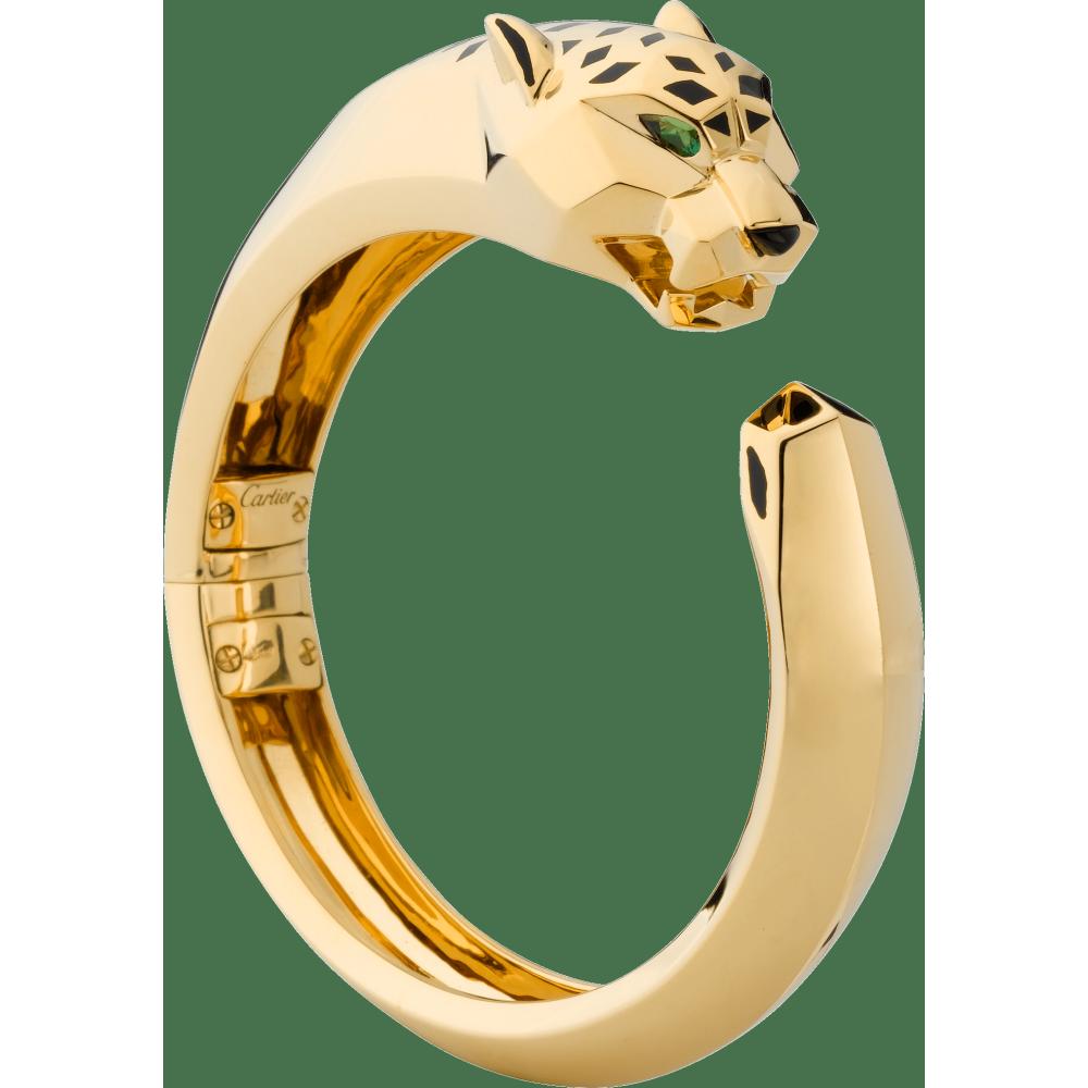 Panthère de Cartier手镯 18K黄金