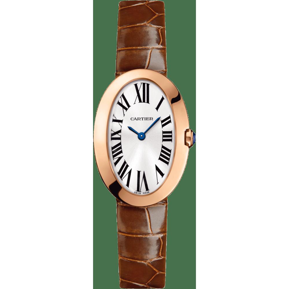 Baignoire腕表,小号表款 小号 18K玫瑰金 石英