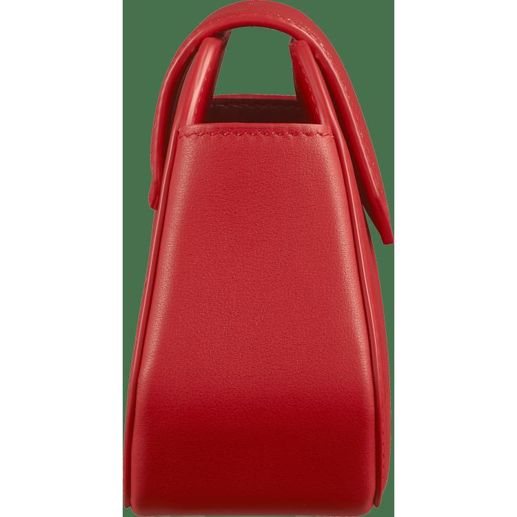 Guirlande de Cartier Nano手袋 红色 小牛皮