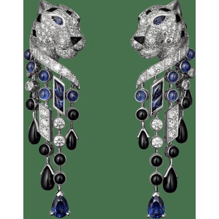 Panthère de Cartier耳环 铂金