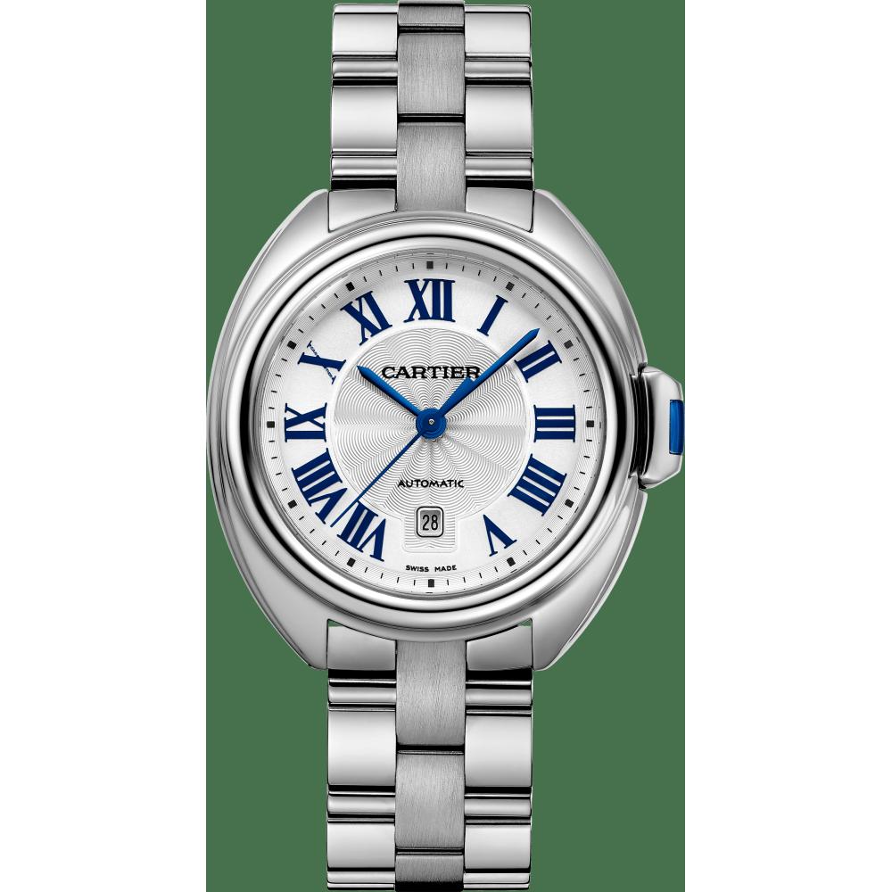 Clé de Cartier卡地亚钥匙腕表 31毫米 精钢 自动上链
