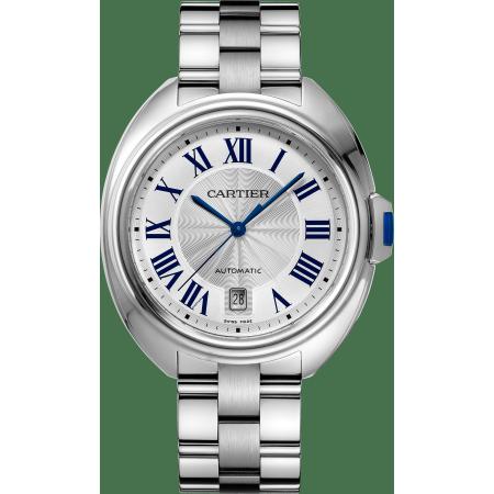 Clé de Cartier卡地亚钥匙腕表 40毫米 精钢 自动上链