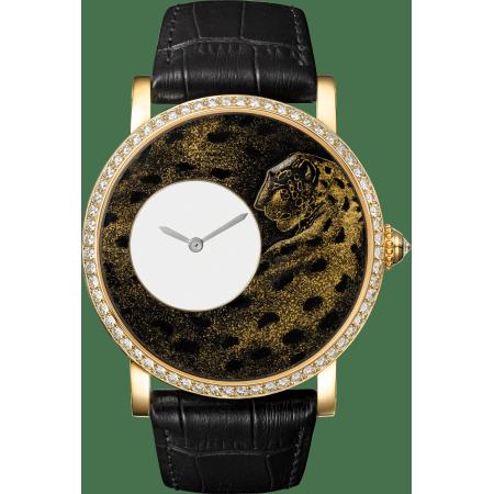 Rotonde de Cartier腕表 42毫米 18K黄金 手动上链