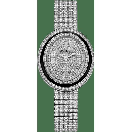 Hypnose腕表 小号 18K镀铑白金 石英