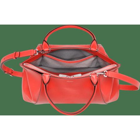 C de Cartier小号手袋 粉色 Taurillon皮革