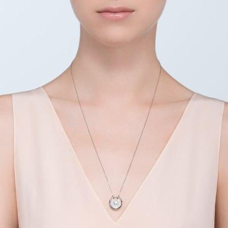 Amulette de Cartier项链,小号款 18K白金