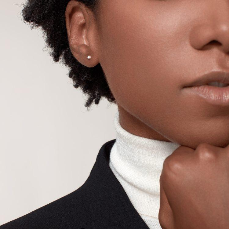 Diamants Légers 耳环,超小号款 18K玫瑰金